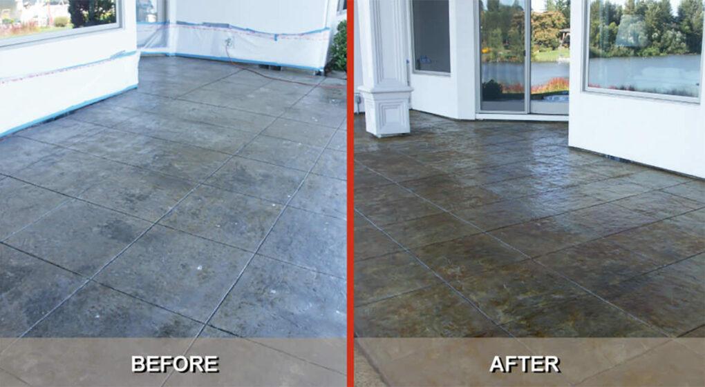 Tips restore stamped concrete gwc decorative concrete