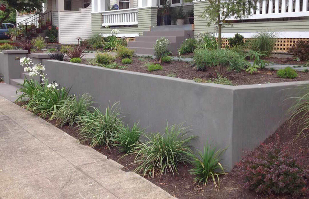 Concrete ideas for your front yard
