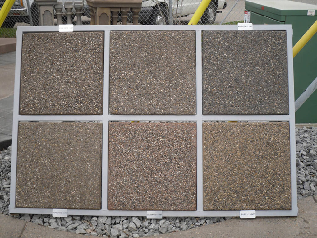 Types of aggregate concrete