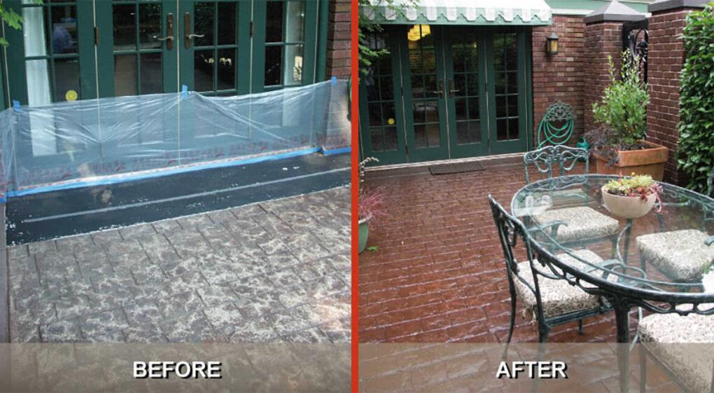 Portland concrete rejuventation