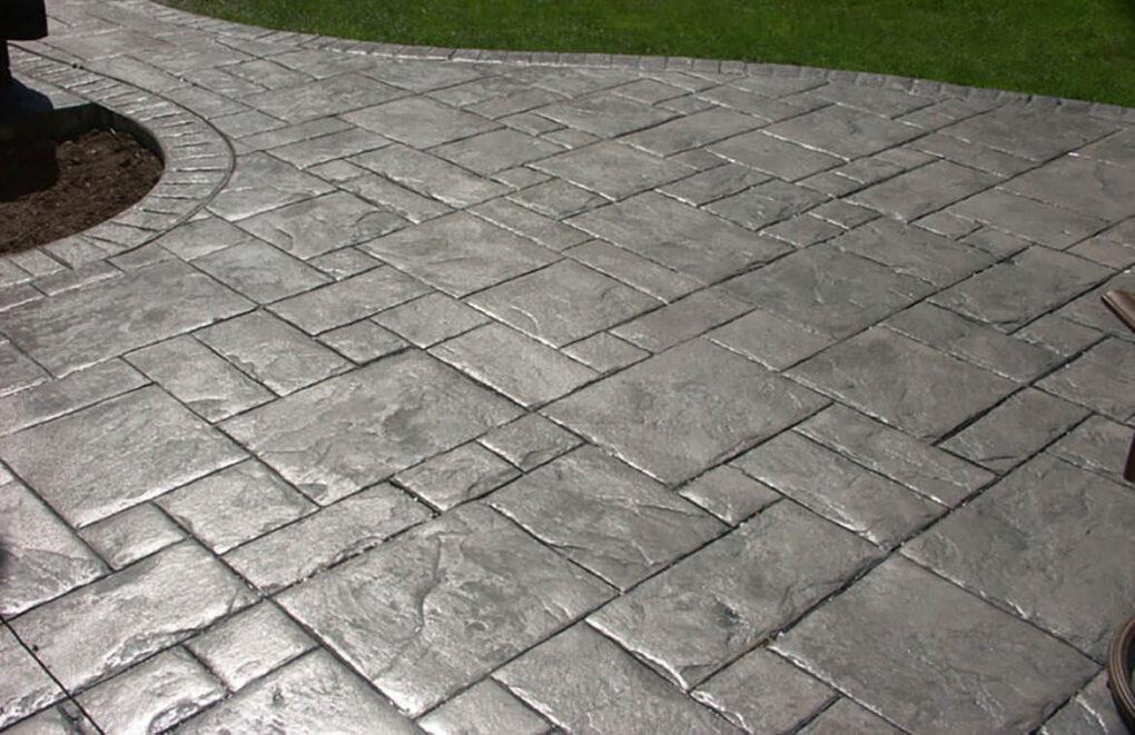 Concrete walkway vs pavers