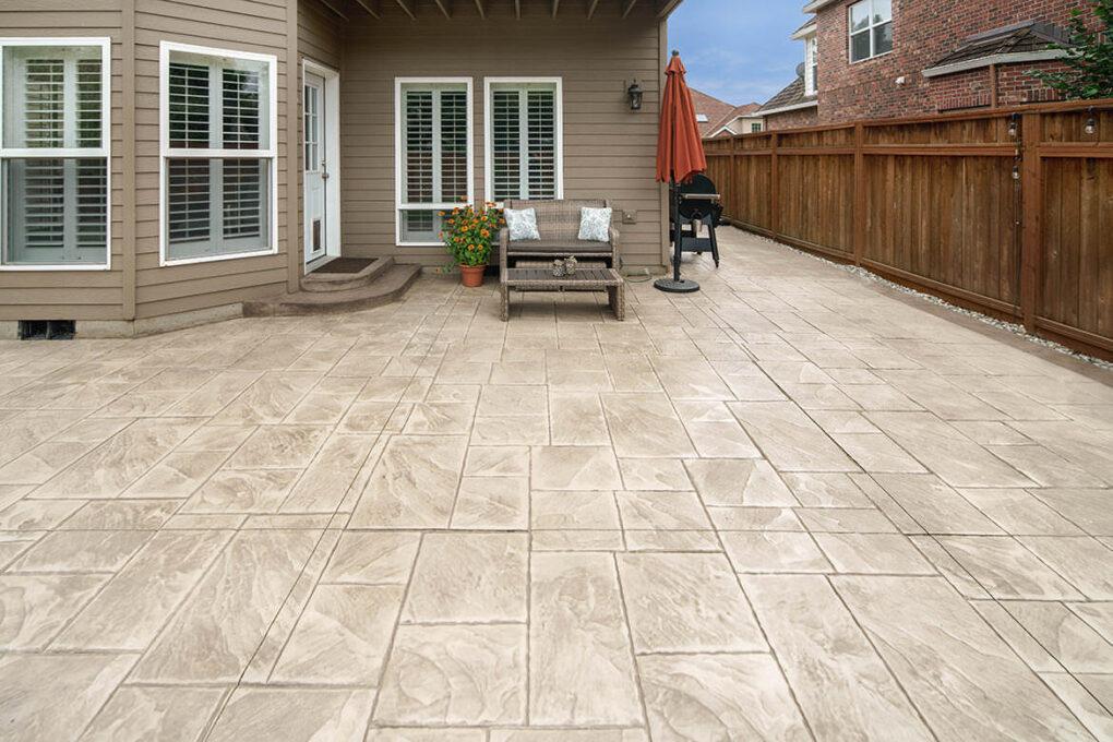 7 wilsonville stamped concrete patio ashler slate stamp