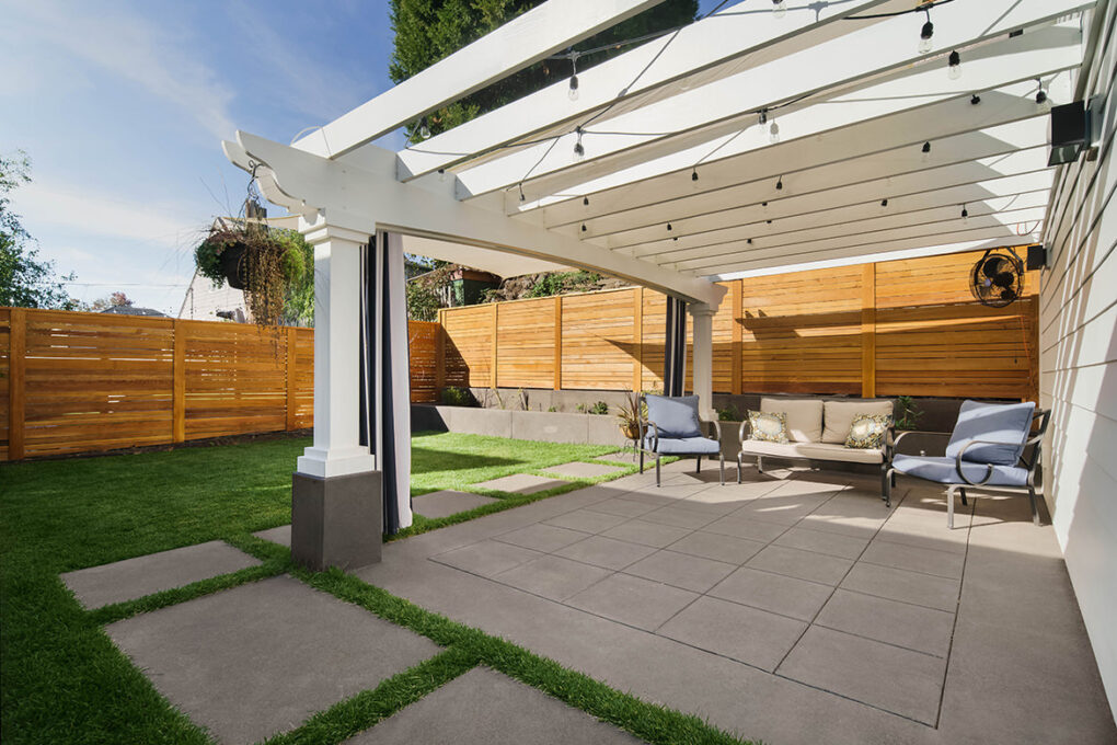 5 alameda outdoor living sand finished concrete patio