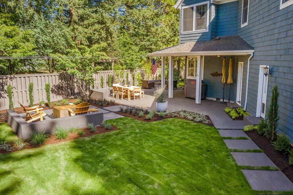 10 cedar hills sand finish concrete patio