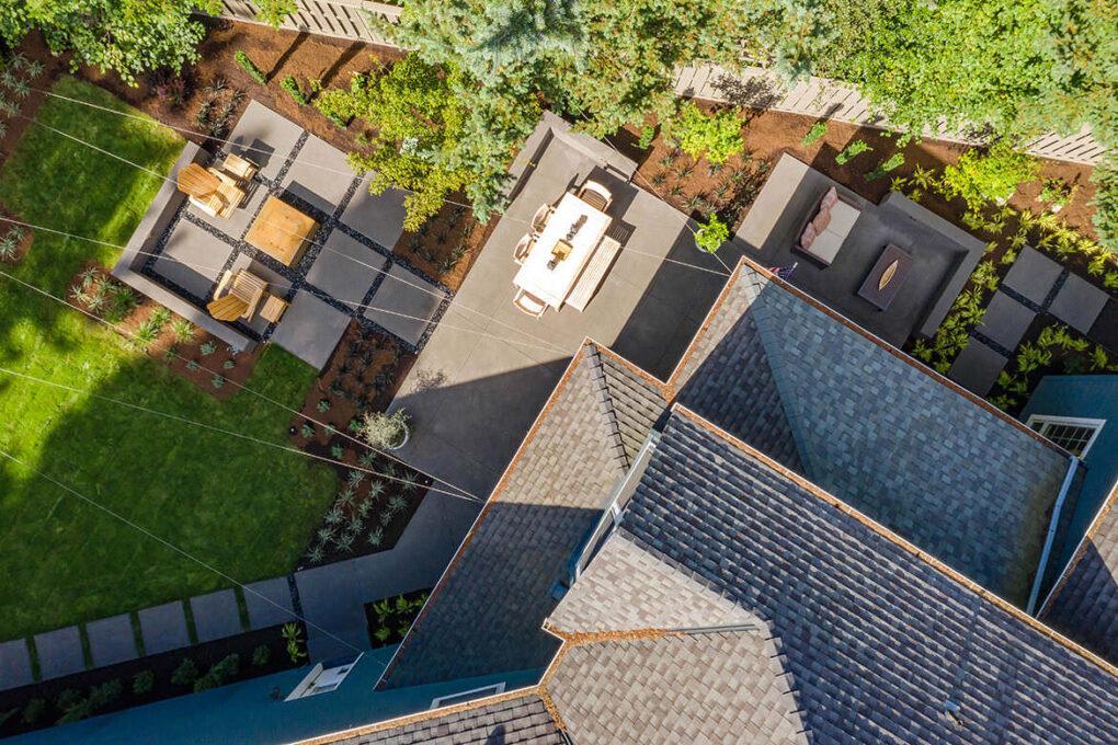 7 cedar hills backyard patio sand finish