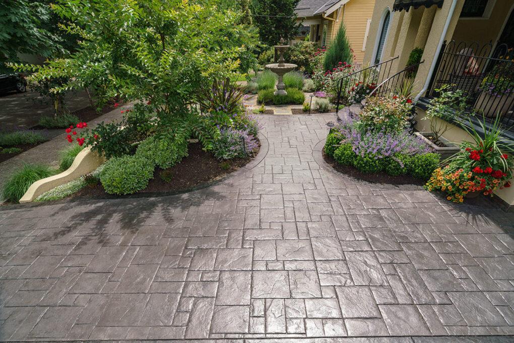 4 grant park stamped concrete patio