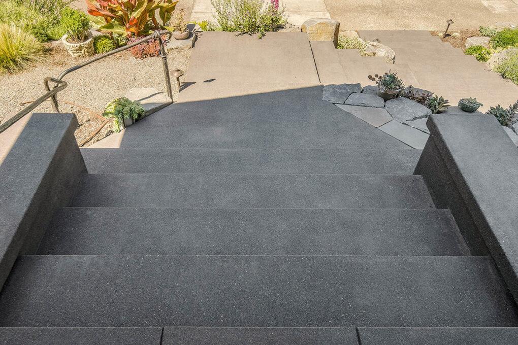 5 irvington sand finish steps